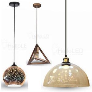 Csillárok, lámpabúrák