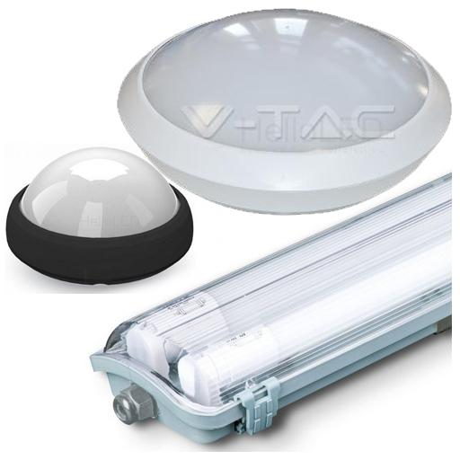 LED Vízmentes lámpatestek, armatúrák
