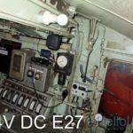 24V DC mozdony világítás