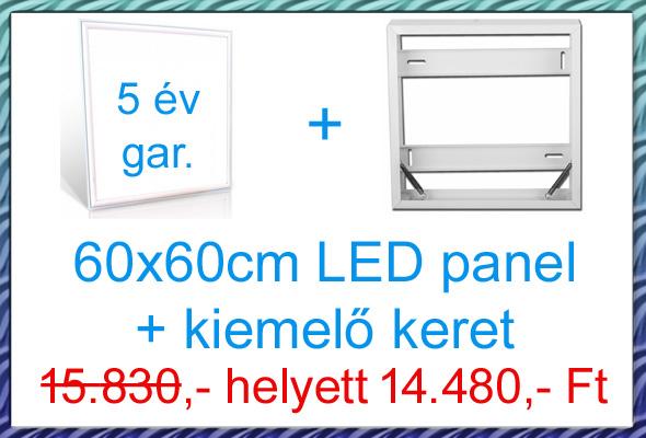 60x60 panel + kiemelő keret akció