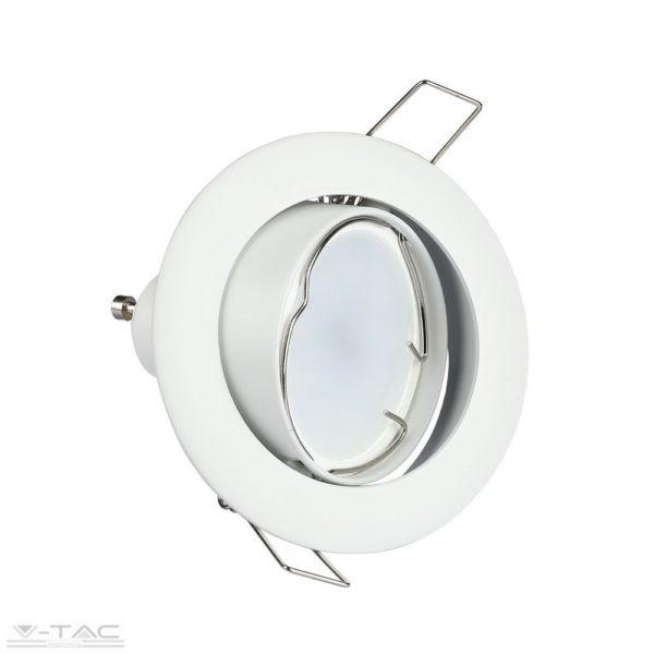 GU10 billenthető beépítőkeret fehér - 3587