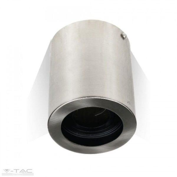 Felületre szerelhető billenthető GU10 keret nikkel kör - 3629