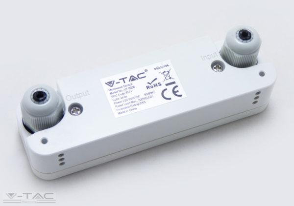 Mikrohullámú mozgásérzékelő fehér - 5571