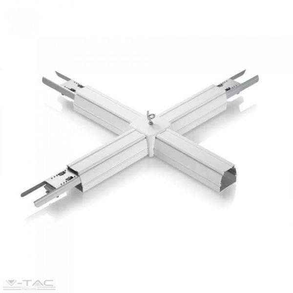 www.helloled.hu V-Tac + toldó LED lineár lámpatesthez (8 eres) - 1385