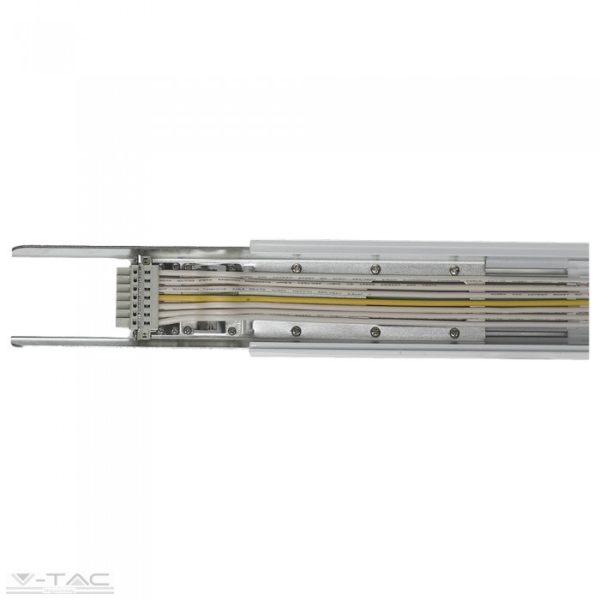 www.helloled.hu V-Tac Áramvezető LED lineár lámpatesthez (8 eres) - 1451
