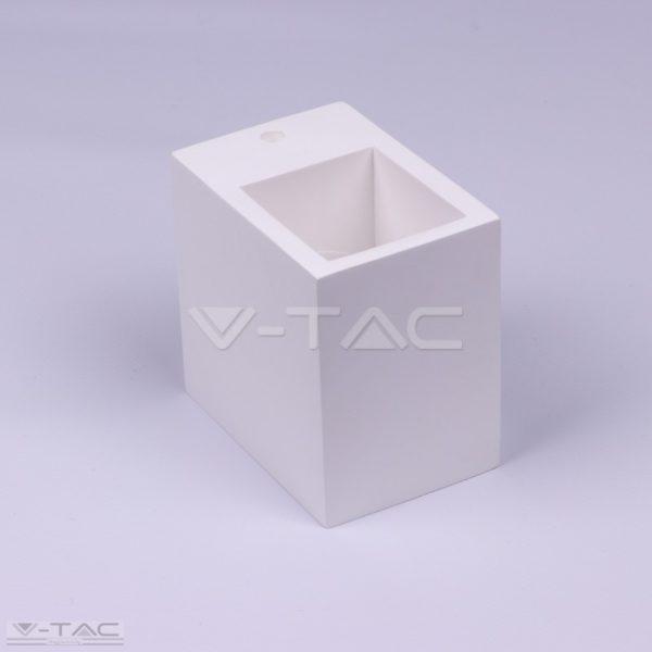www.helloled.hu V-Tac G9 felületre szerelhető keret négyszög fehér - 3695