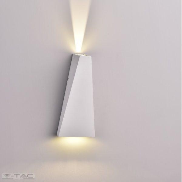 6W LED fali lámpatest fehér IP65 3000K - 8295