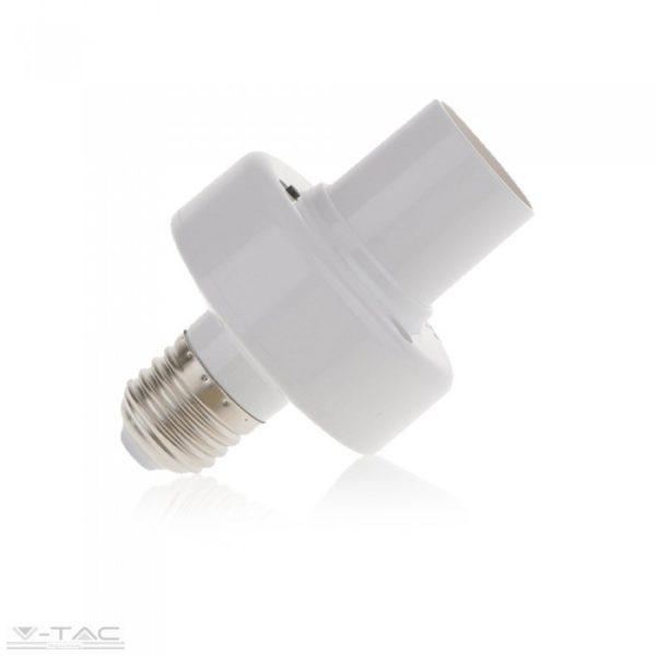 www.helloled.hu V-Tac Wifis smart E27 foglalat fehér - 8421