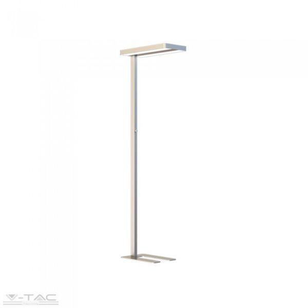 www.helloled.hu V-Tac 80W Exkluzív irodai LED állólámpa dimmelhetõ ezüst 4000K - 8523