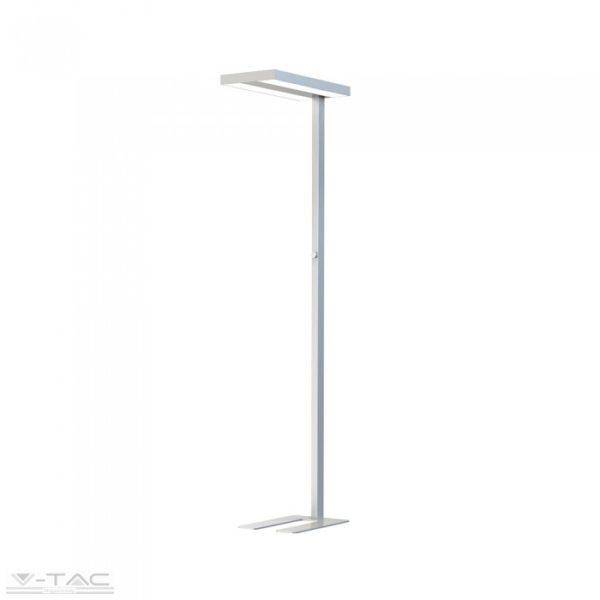 www.helloled.hu V-Tac 80W Exkluzív irodai LED állólámpa dimmelhető ezüst 4000K - 8525