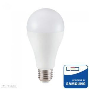 www.helloled.hu V-Tac 18W LED izzó Samsung chip E27 A80 5 év garancia