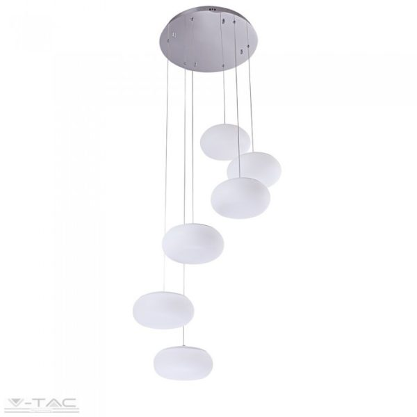 72W LED dimmelhető designer csillár fehér 3000K - 40011