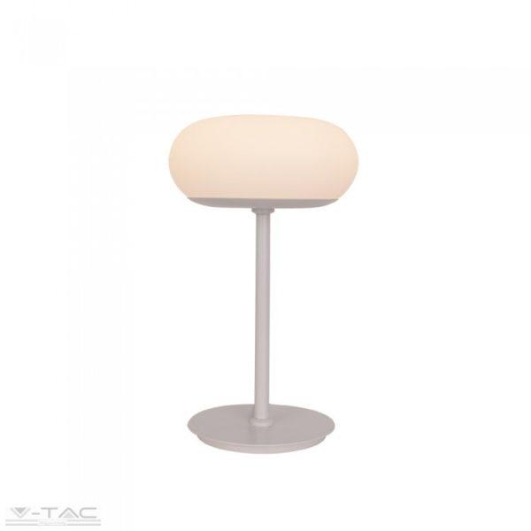 12W LED dimmelhető designer asztali lámpa fehér 3000K - 40071