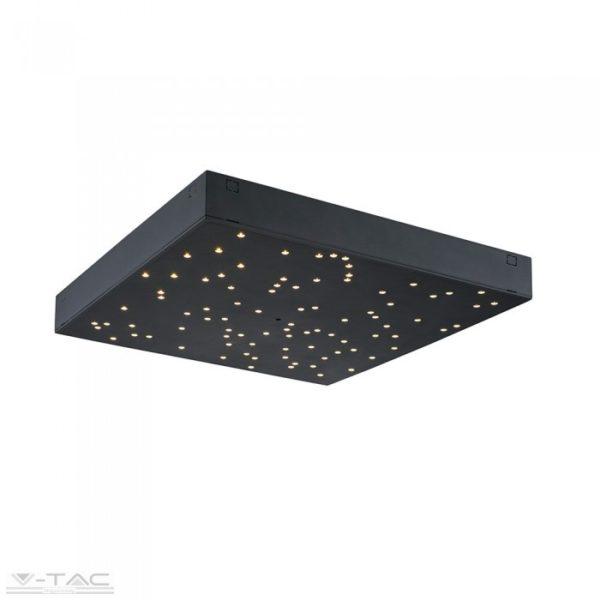 8W LED dimmelhető csillagos égbolt fekete - 40291