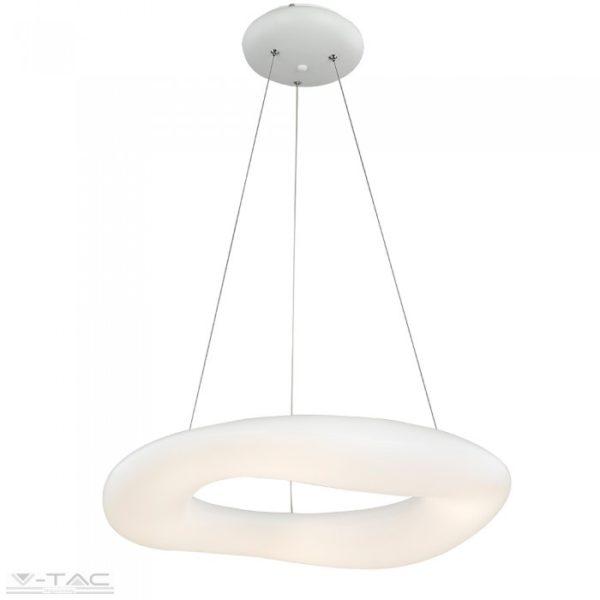 32W LED dimmelhető design csillár kör fehér - 3958
