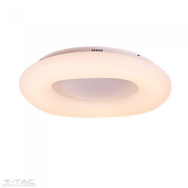 22W LED dimmelhető design csillár kör fehér - 3966