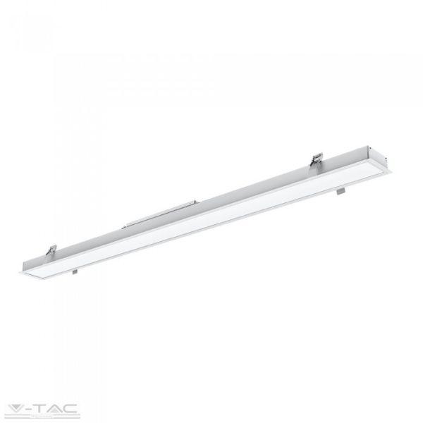 40W LED Lineár lámpatest toldható fehér 4000K - 381