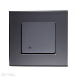 Beépíthető mikrohullámú mozgásérzékelő fekete IP65 - 15031