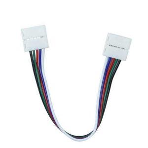Rugalmas csatlakozó RGB+W LED szalaghoz - 2587