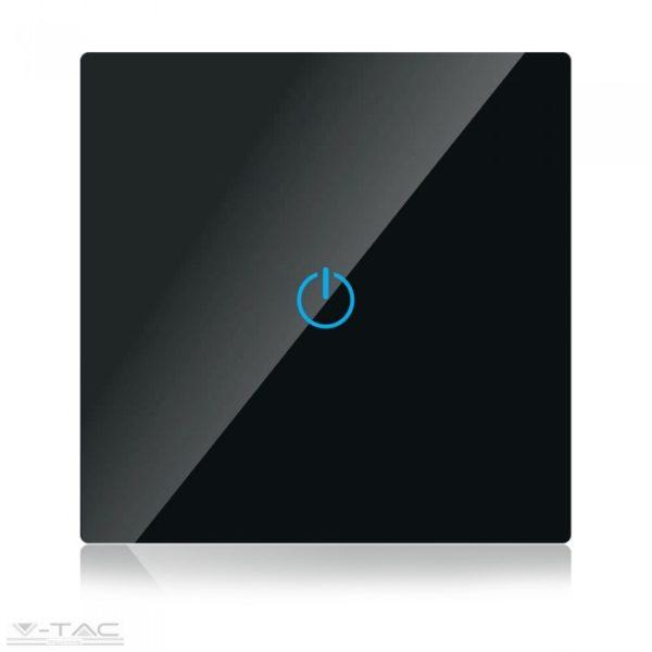 Fekete üveg kapcsoló - 8385