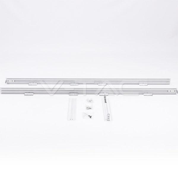 LED panel rögzítő keret kívülről történő felszereléshez 1200 x 300 mm - 8158