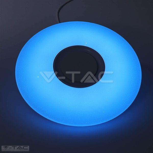 36W LED Smart mennyezeti lámpa csillogó hatású bura + Beépített hangszoró RGB+3 IN 1 - 1490