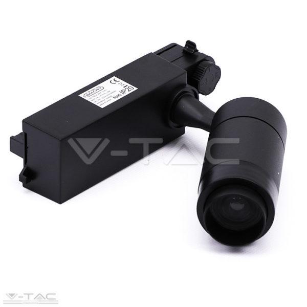 15W fekete LED kirakatvilágító RGB+W CCT - 1457