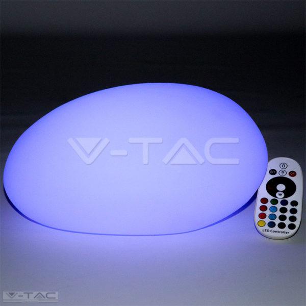 RGB LED-es díszkő fehér 33 cm IP67 - 40171