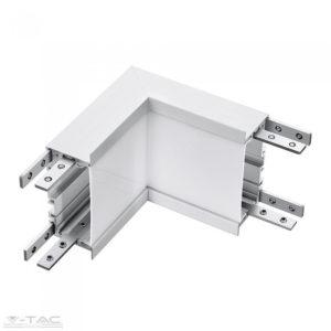 Belső sarok toldó süllyeszthető lineár lámpatesthez ezüst VT-7-41-L - PRO388
