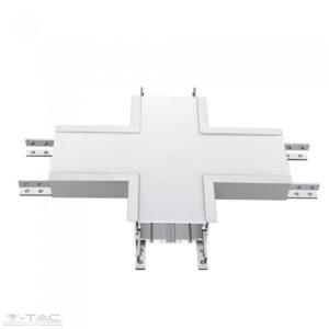 X toldó süllyeszthető lineár lámpatesthez ezüst VT-7-41-X - PRO394