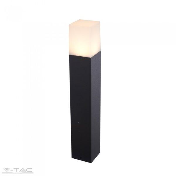 GU10 foglalattal ellátott fekete kerti négyszög állólámpa IP54 - 7564