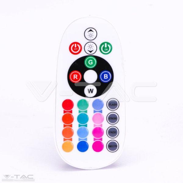 3,5W LED izzó E27 G45 RGB+CW 6400K - 2774