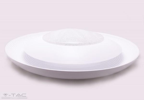 48W dimmelhető kristály hatású LED mennyezeti design lámpa 3 in 1 vezérlővel - 7600