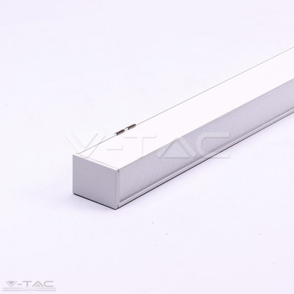 40W LED toldható lineár lámpatest sodronyos függesztékkel fehér 4000K - PRO383