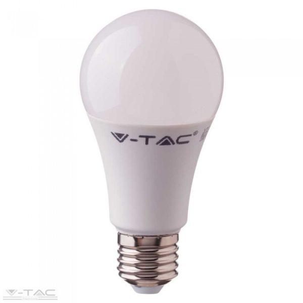 11W LED izzó beépített mikrohullámú mozgásérzékelővel E27 A60 4000K - 2764