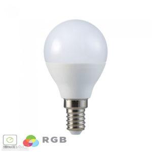 3,5W LED izzó E14 P45 RGB+CW 6400K - 2777