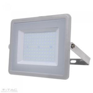100W LED reflektor Samsung chip szürke 3000K - PRO472