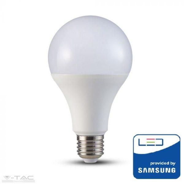 20W LED izzó Samsung chip E27 A80 6400K - PRO239