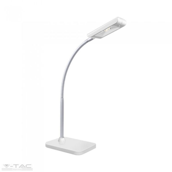 3,6W LED fehér/ezüst asztali lámpa 3000K - 8671