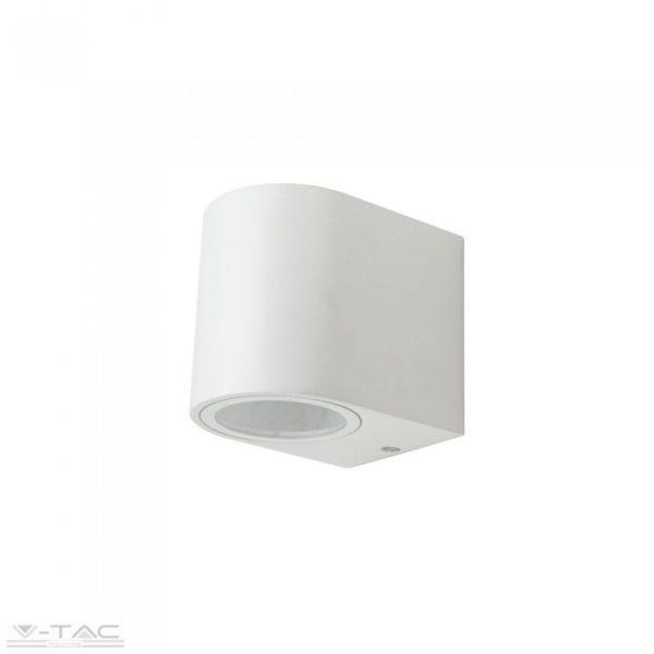 GU10 foglalattal ellátott fali lámpatest fehér 1 irányú IP44 - 7540