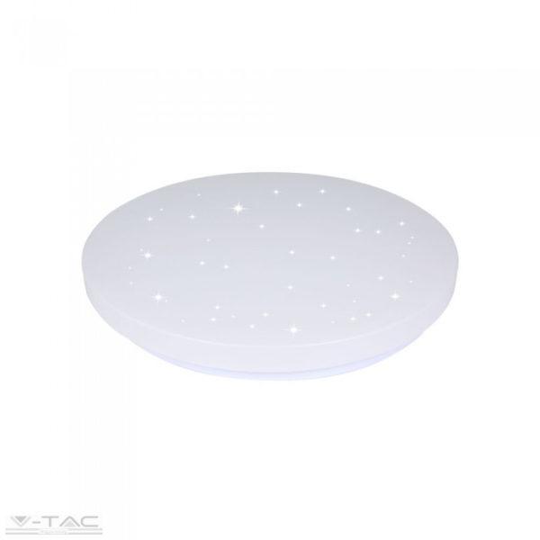 36W LED csillogó búrás kör mennyezeti lámpa állítható színhőmérséklet - 7608