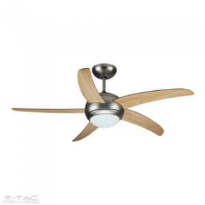 60W ventilátor dupla E27 foglalatú lámpával - 7916