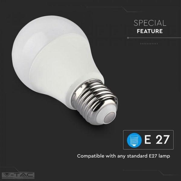 10W Wifis smart LED izzó E27 A60 RGB + 3in1 CCT - 2751