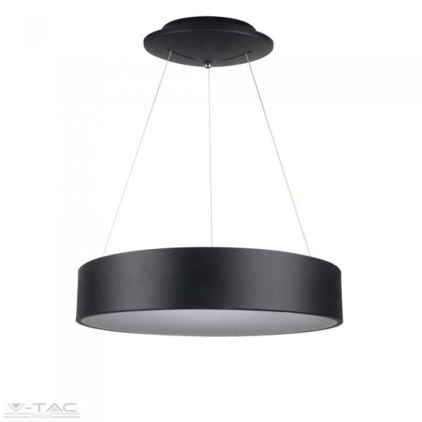30W LED gyűrű csillár fekete dimmelhető 3000K - 3996