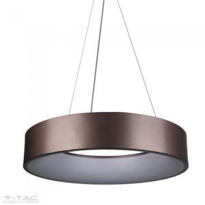 30W LED gyűrű csillár kávé dimmelhető 3000K - 3997
