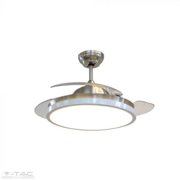 30W LED Dekoratív 3in1 mennyezeti lámpa 35W ventilátorral - 7929