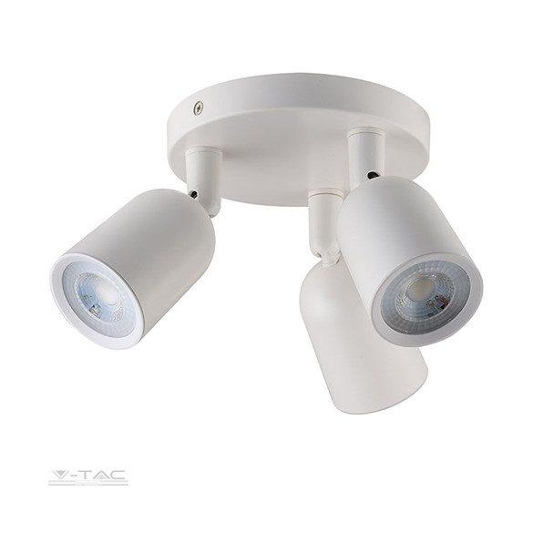 Falon kívüli spot lámpatest (3xGU10) fehér - 7982