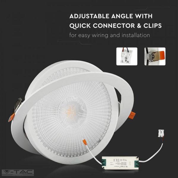 LED Mélysugárzó Samsung chip 5év garancia