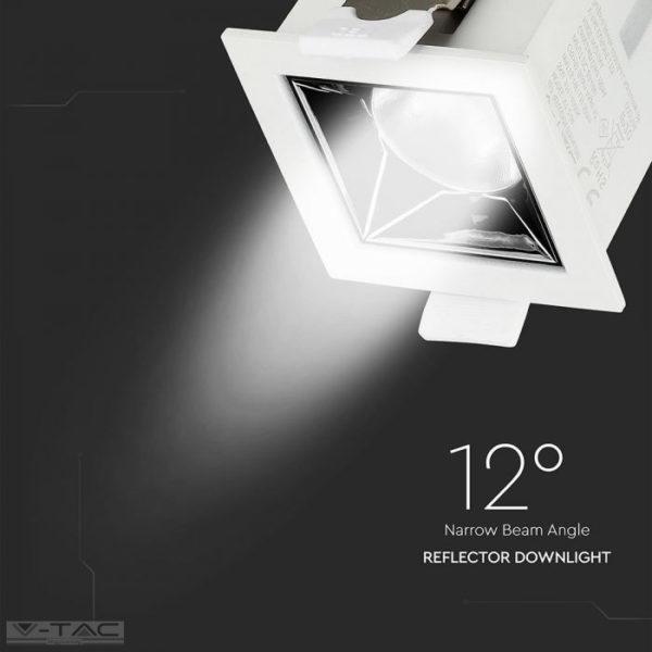 4W LED mélysugárzó fehér Samsung chip