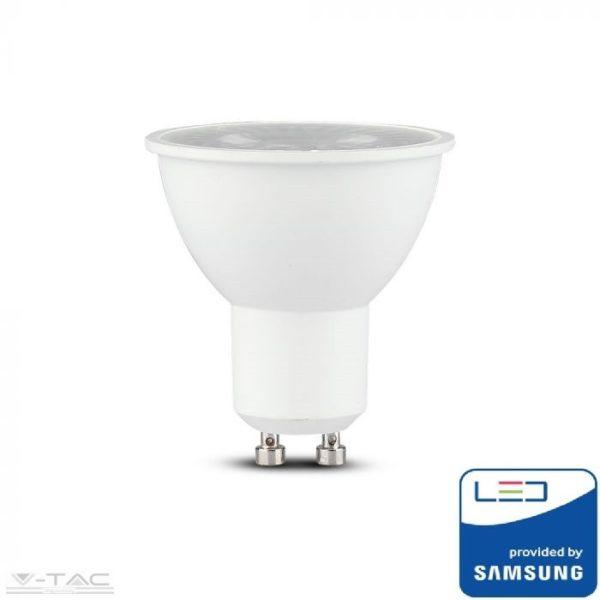 5W LED spotlámpa Samsung chip GU10 lencsés 38 °